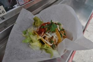 A. Scattergood  LuckDish's chicken curry taco