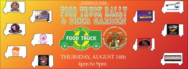 Ridgefield nj overpeck park to host food truck rally for Aroy thai cuisine portland or