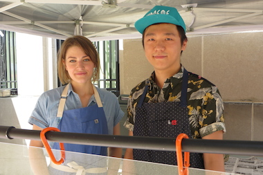 "Bridgeport couple Caitlin Bauler and Ye ""Red"" Yuan started a business, Nali, sellling jianbing, a popular street food in China that's hard to find anywhere else."
