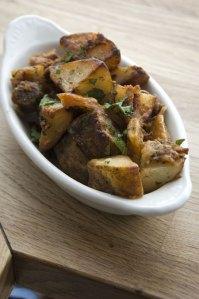 Crispy Potatoes with Burnt Edges | Photo credit: Porchetta