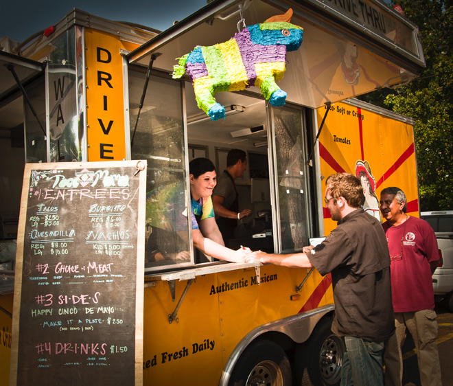 Like nearly half of Lafayette's burgeoning food truck fleet, Taco Mama folded within months of opening its window.
