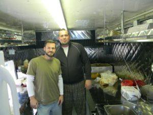 Photo By Paul Galvani  Matt Opaleski, left, and Jason Hill, the team behind H-Town StrEATS food truck, will be at the Best Damn Food Truck Festiv