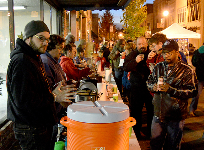 Johnson, TN: First Friday Cook-Off Offers Participants Chili Solution to Chilly Night