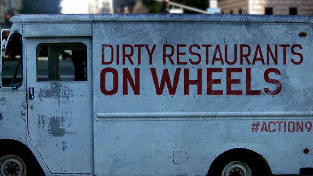 Orlando, FL: Action 9 Investigates Dirty Food Trucks