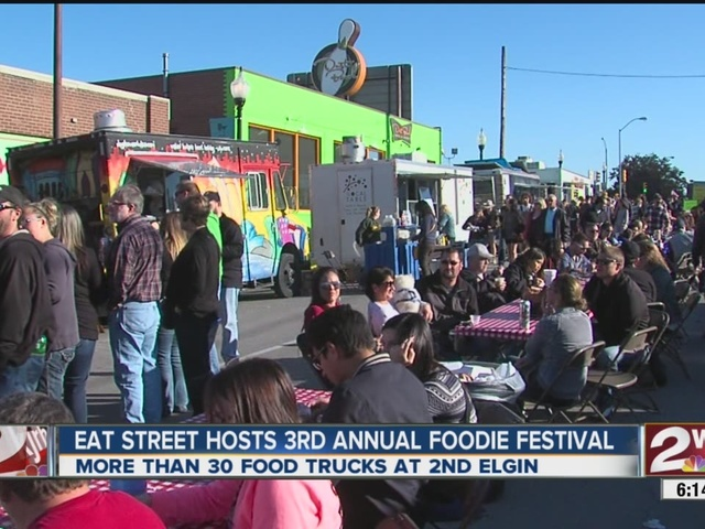Tulsa, OK: Eat Street Tulsa Hosts its 3rd Annual Foodie Festival with More than 30 Food Trucks