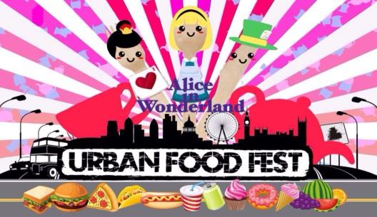 London, UK: Eat me, drink me – Urban Food Fest puts on 'Alice In Wonderland' party