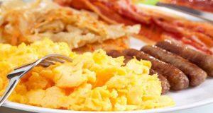 The yummy eggy platter: EGGjactly, photo by Little Black Book Delhi