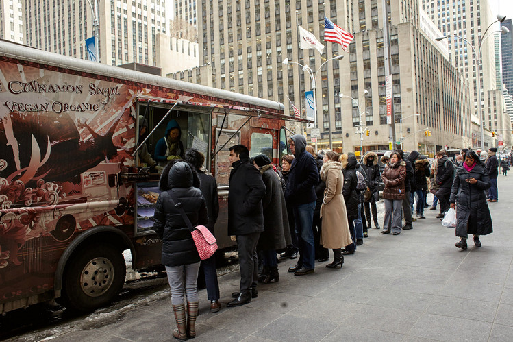 New York, NY: Top-Rated New York City Food Truck Cinnamon Snail to Shut Down
