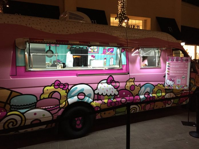 San Francisco CA A Hello Kitty Food Truck Is Coming To