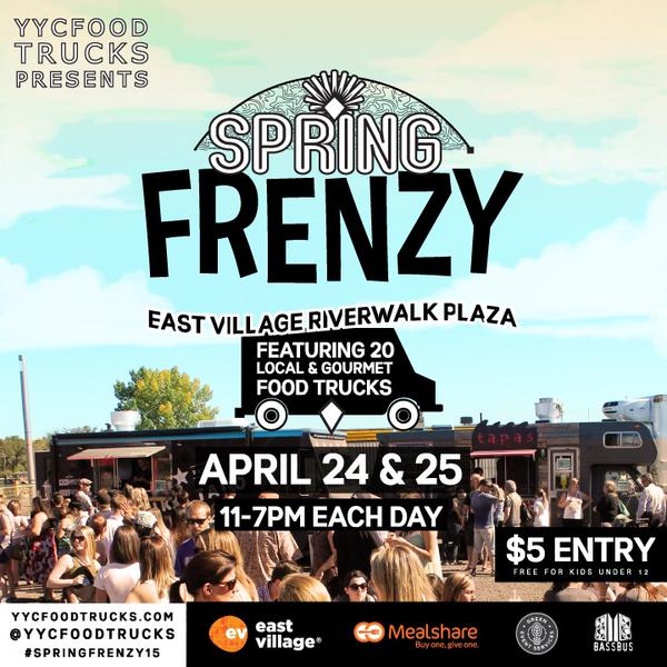 Calgary, CAN: Spring Food Truck Frenzy!