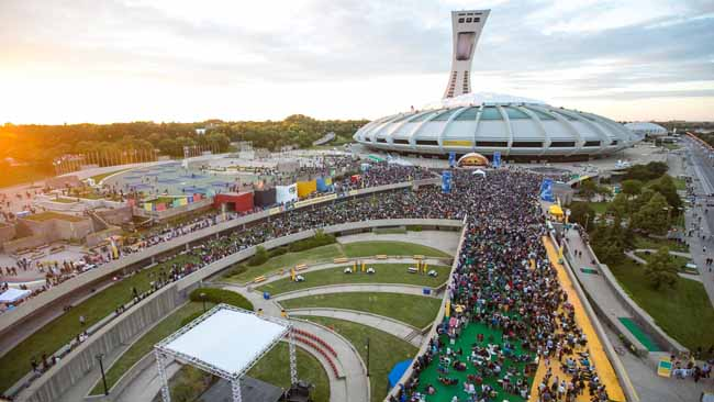 Montreal, CAN: 40 Montreal Food Trucks Are Taking Over The Olympic Stadium Park In May