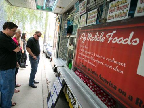 Food truck  (Photo: Michael Schennum, Michael Schennum / The Republic)