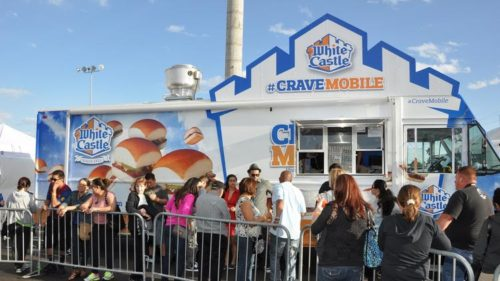 The White Castle Crave Mobile is one of 50 food trucks that will be at the Great American Foodie Fest. (Great American Foodie Fest)