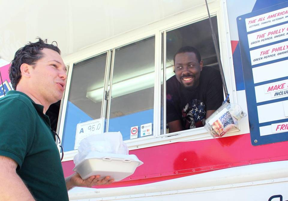 Cary, NC: Cary Invasion basketball player moonlights as All American Food Truck owner