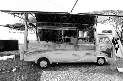 Beijing, CHN: First solar-powered food truck debuts in Beijing