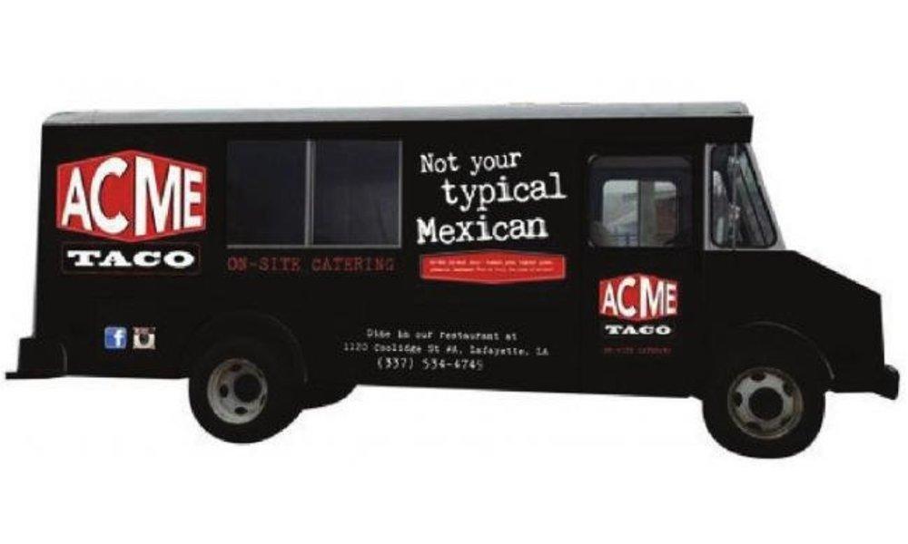 Lafayette, LA: Acme Taco rolls out a food truck
