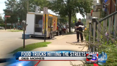 Des Moines, IA: Food Trucks Hitting the Streets April 17th
