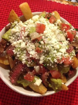 The Carne Asada Fries from Frites Street, a new food truck to hit the valley. (Photo: Frites Street/Facebook)