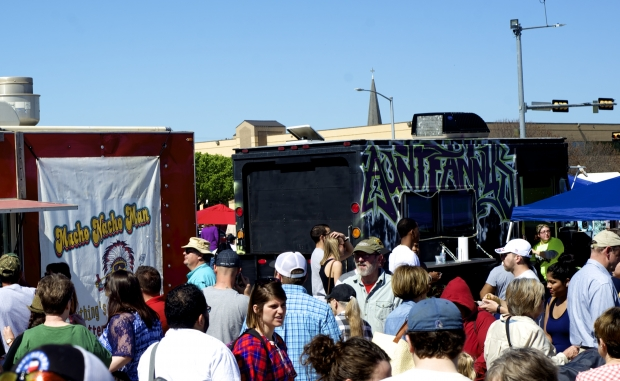 Waco, TX: 1st Texas Food Truck Showdown hit the Jackpot