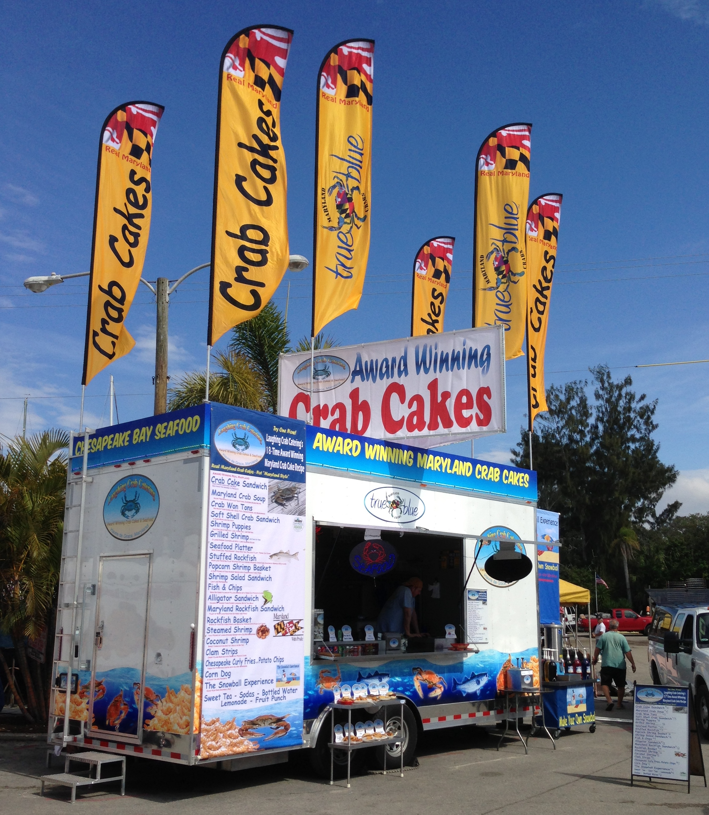 St. Augustine, FL: Havre de Grace Catering Company Honored at Seafood Festival