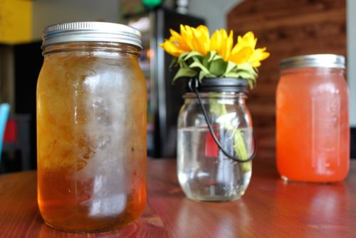You can bet you'll still find the food truck's signature aguas frescas at the brick-and-mortar restaurant. Lauren Saria