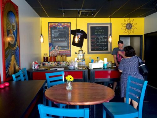 Inside The Taco and Dilla Parlor in north Phoenix. Lauren Saria