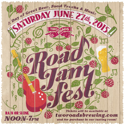 Stratford, CT: Two Roads' Second Annual Road Jam Concert – Soul Rebels, Food Truck & Beer!