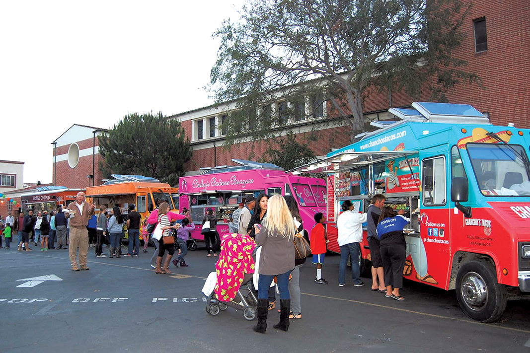 Westchester, CA: Food Truck Friday Nights kick off 2015 season celebrating the decades and school reunions