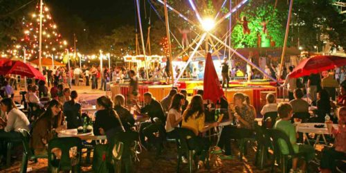 """The Garden of Unearthly Delights during """"Mad March""""."""