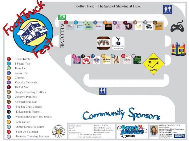 Middletown, NJ: Middletown South To Hold Food Truck Festival On Friday