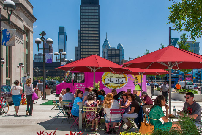 Philadelphia's UCD & Chef Michael Schulson STOMP OUT Independent Food Truck Operators