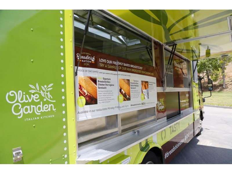 Tampa, FL: Olive Garden Food Truck Coming to Town