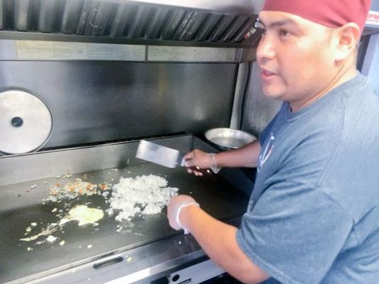 Minneapolis, MN: Food Truck Friday – Hibachi Daruma serves sizzling Japanese cuisine