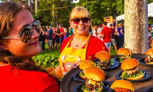 The fourth-annual Boca Burger Battle will take place on July 11. Photo courtesy of the Boca Burger Battle