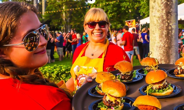 Delray,FL: Fourth-Annual All-You-Can-Eat Boca Burger Battle Returns to Sanborn Square