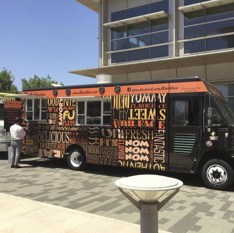 Sacramento, CA:  Chef's daring drives Flavor Face food truck