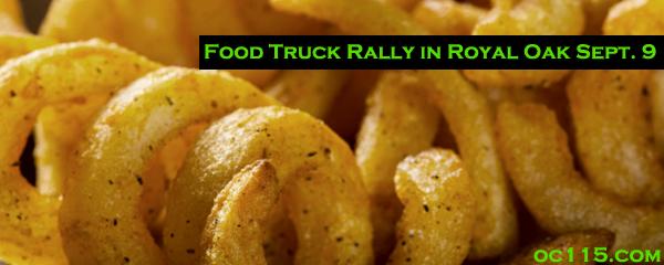 Oakland, CA: Food Truck Rally in Royal Oak Sept. 9