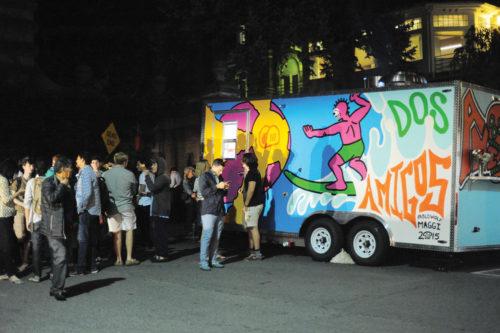 Dos Amigos, a new Mexican food truck, opens on Eddy Street Thursday night.  (Brittney Chew / Sun News Photography Editor)