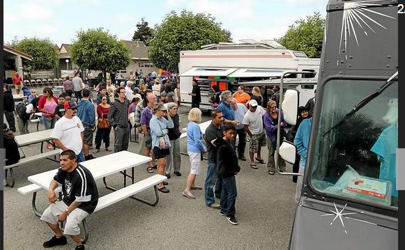 Watsonville, CA: Watsonville Food Truck Block Party serves up success
