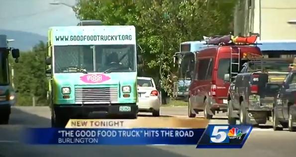 Burlington, VT: 'Good Food Truck' serves lunch, raises cash to combat hunger
