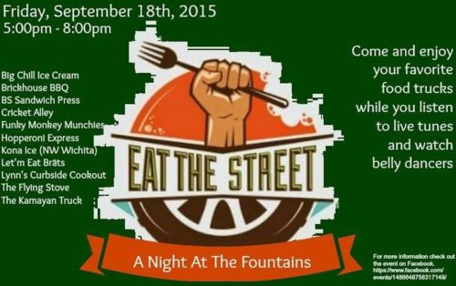 Night at the Fountains is a new food truck rally scheduled for Sept. 18 Courtesy