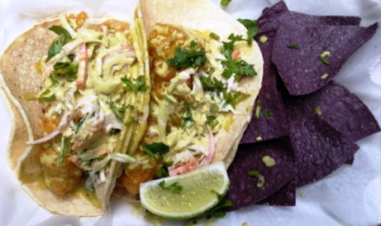 Camion's Fish Tacos (credit: Perry R.)