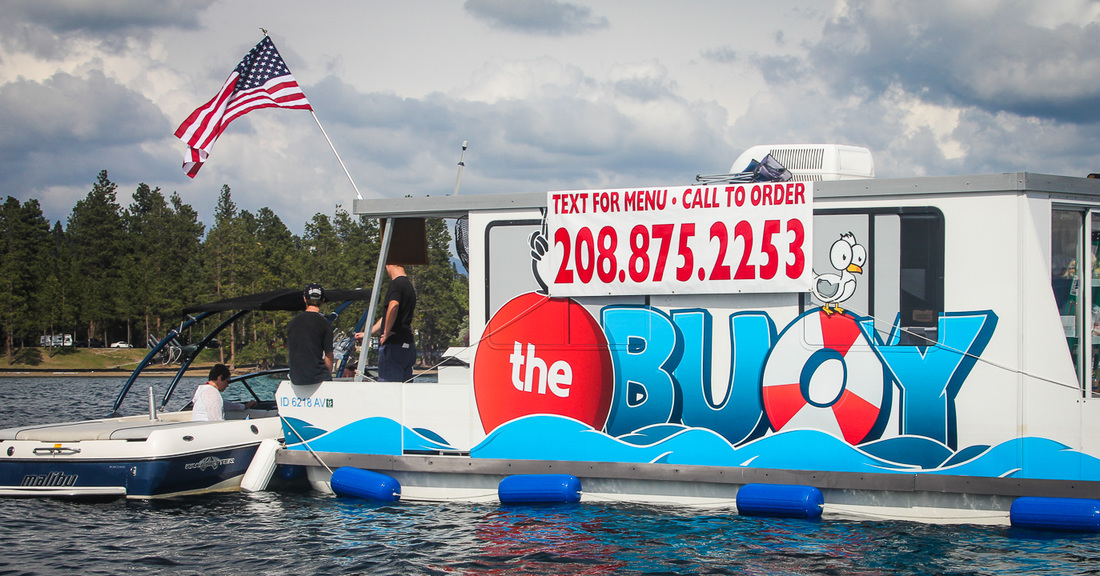 Coeur d'Alene, ID: Floating Food Truck Hits The Water