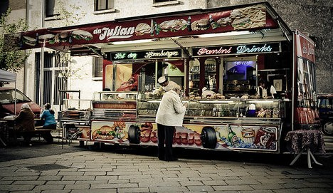 Milan, ITA: Italy startup leads street food revolution
