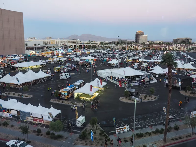 Henderson, NV: Food Trucks Galore Barrel in to Sunset Station for the Great American Foodie Fest