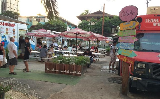 Honolulu, HI: Food courts for food trucks continue to grow