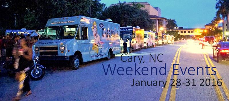 Cary, NC: Weekend – Live Music, Lego Palooza & Food Trucks