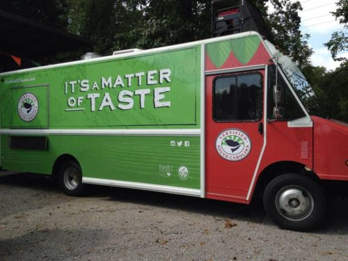 Food trucks will be serving up a variety of  dishes Sunday at the Farmers Market. Provided photo