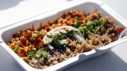 """The """"OG"""" fried rice. (Francine Orr / Los Angeles Times)"""