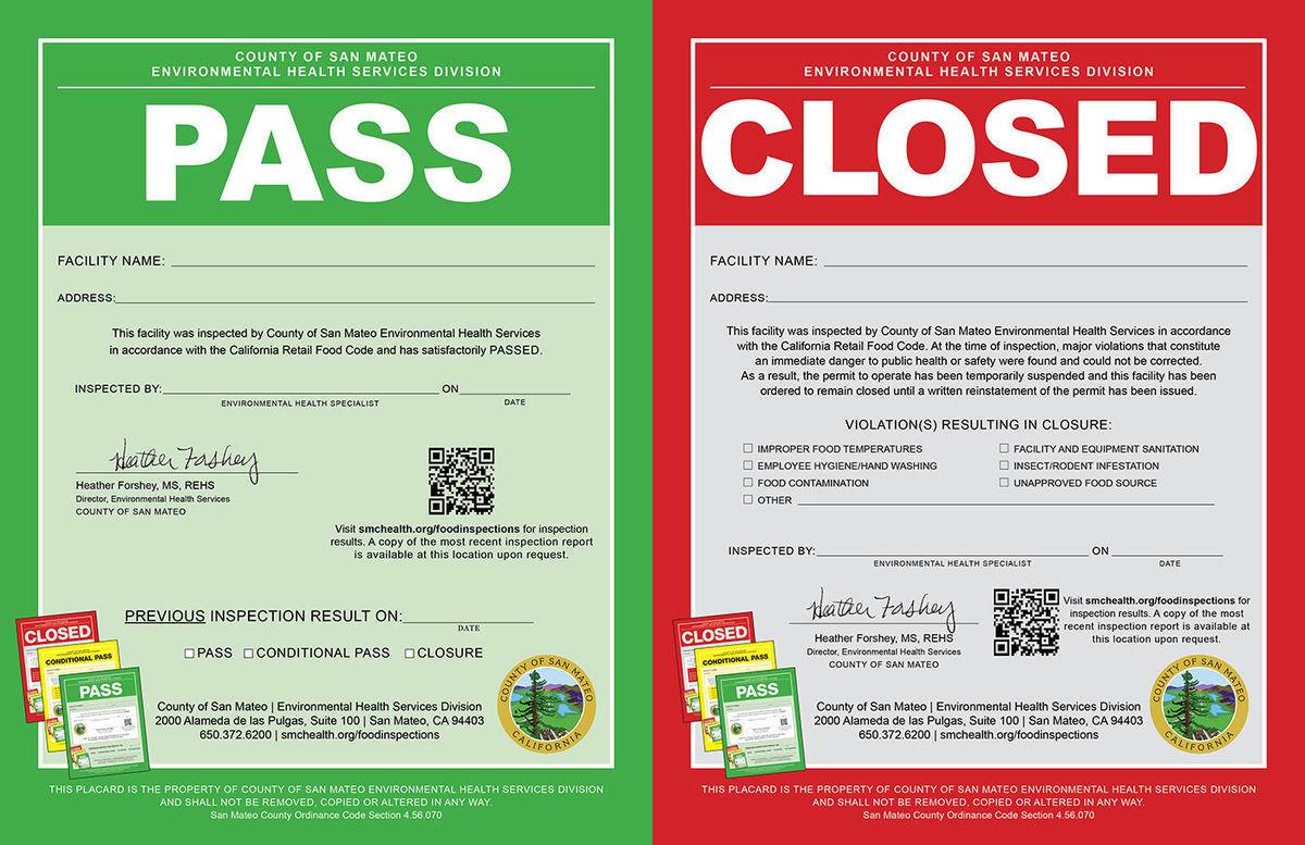 San Mateo, CA: County devises new food safety program